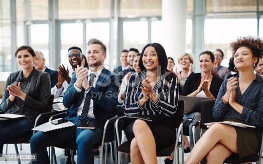 istock Nothing brings people together like good news 1141462805