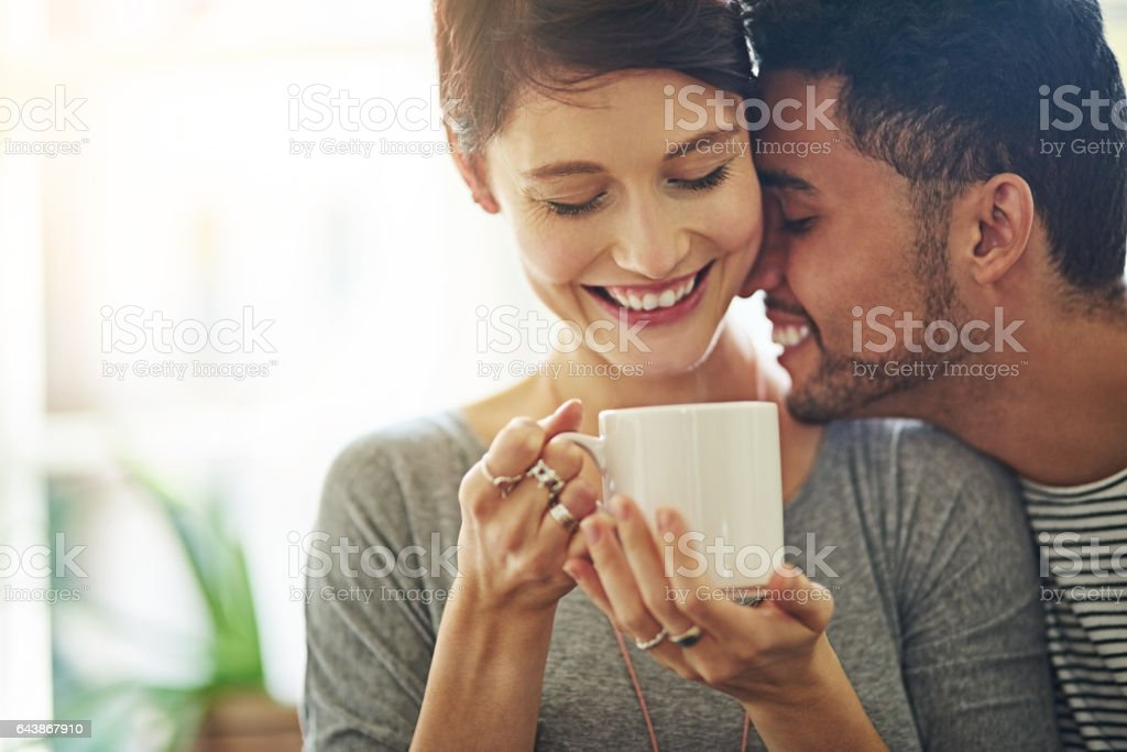 Nothing but love stock photo