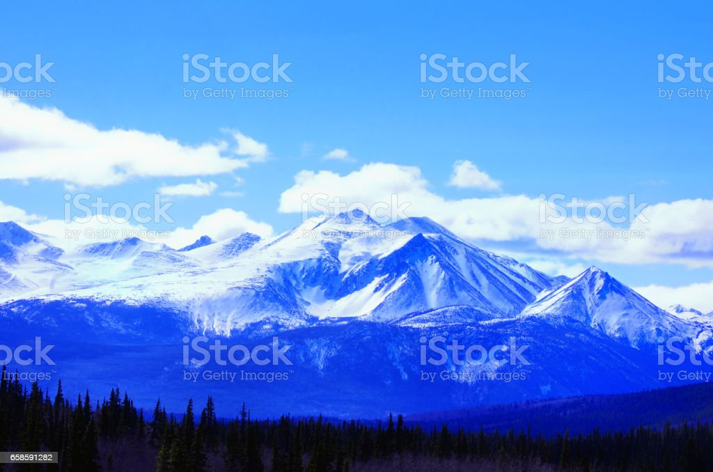 Nothing but Mountains stock photo