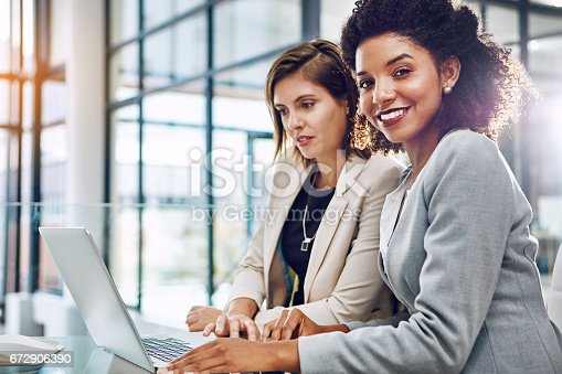 istock Nothing but productivity when we partner up 672906390