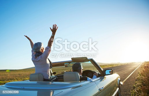 istock Nothing but the open road 520360399