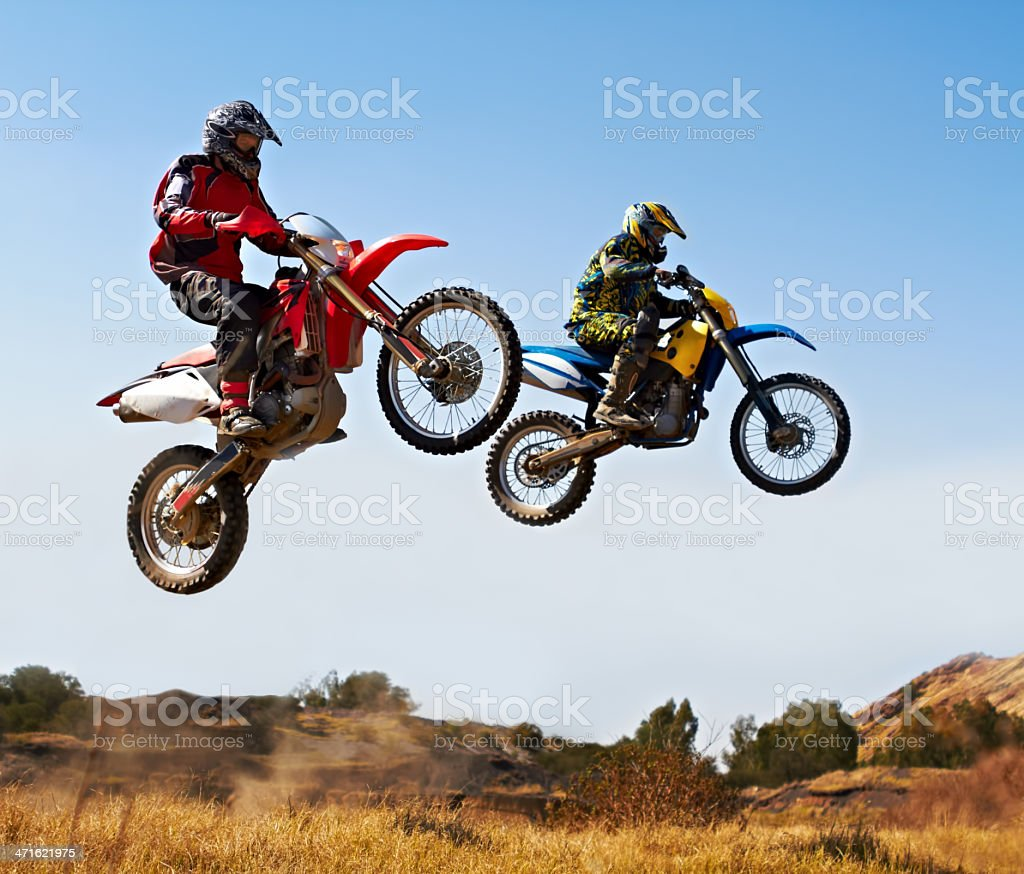 Nothing compare to the thrill of a good race royalty-free stock photo