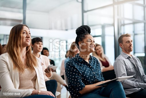 istock Nothing drive audience interaction like q and a 1023551848