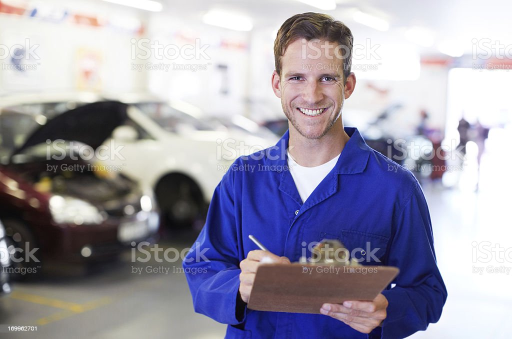 Nothing gets passed his experienced eye royalty-free stock photo