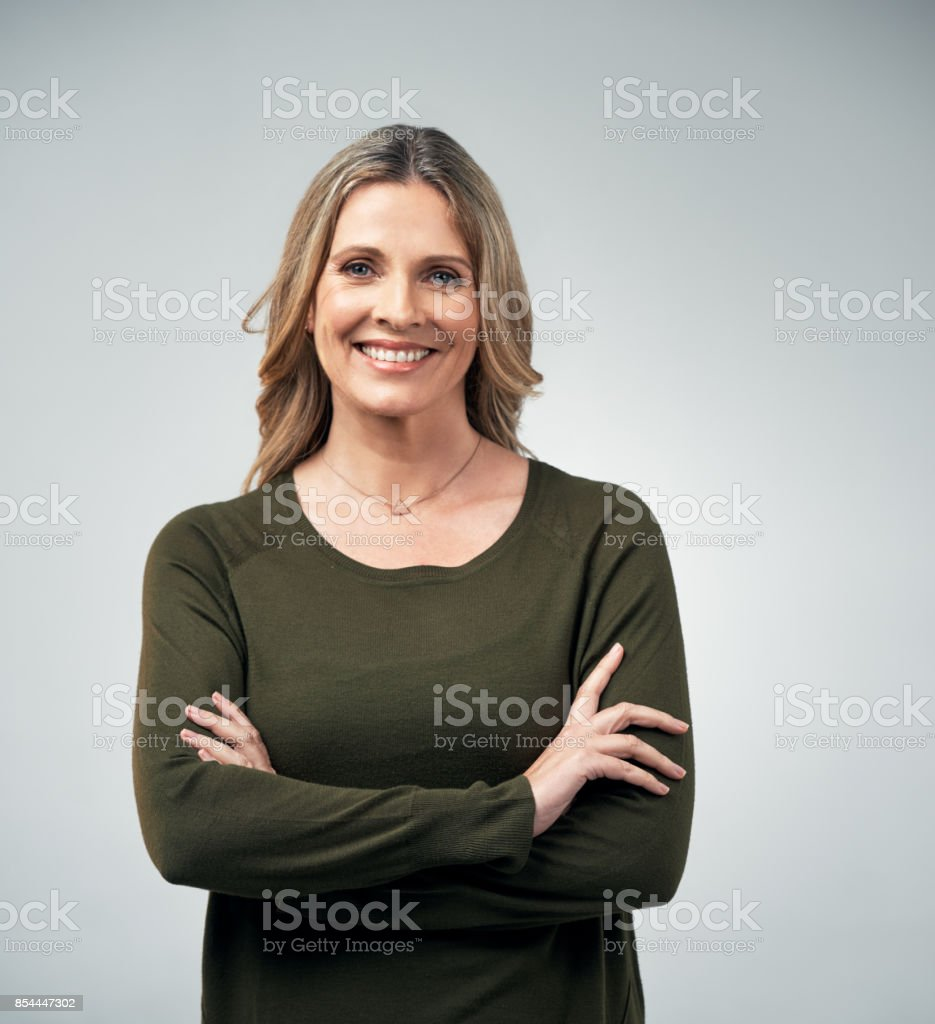 Nothing gives confidence like experience stock photo