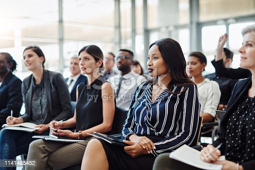 892254154 istock photo Nothing grows a career like a skills development conference 1141465452