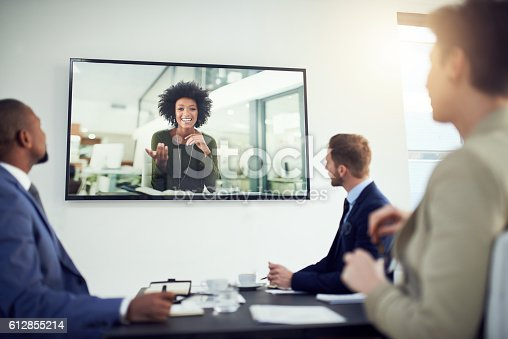istock Nothing is lost in translation thanks to video calling 612855214