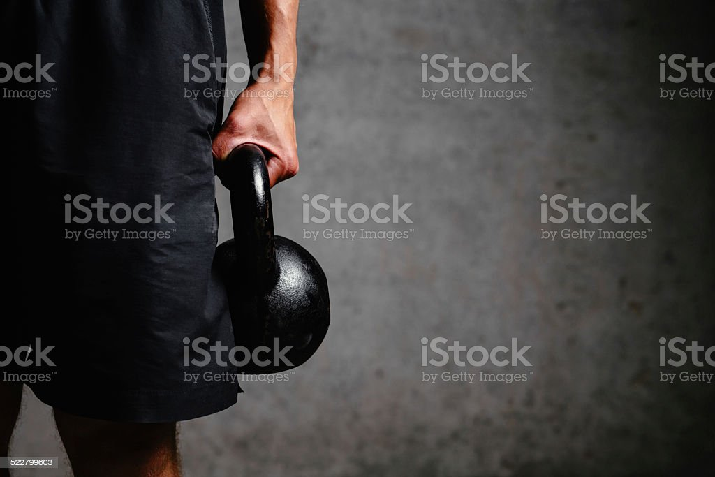 Nothing is too heavy stock photo