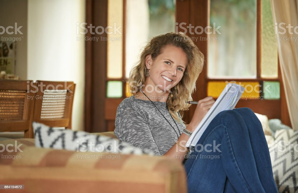 Nothing more needed for a perfect day at home royalty-free stock photo