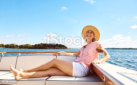 879618770 istock photo Nothing more relaxing than a boat ride 879618560