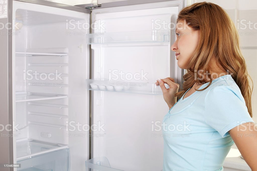 Nothing to eat. royalty-free stock photo