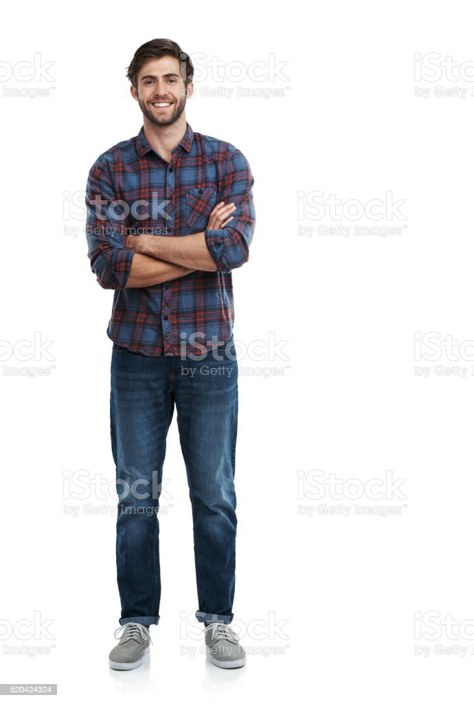 Nothing to hide! stock photo