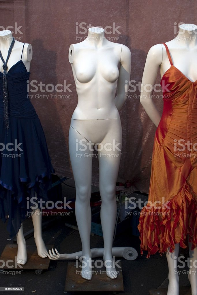 Nothing to wear royalty-free stock photo