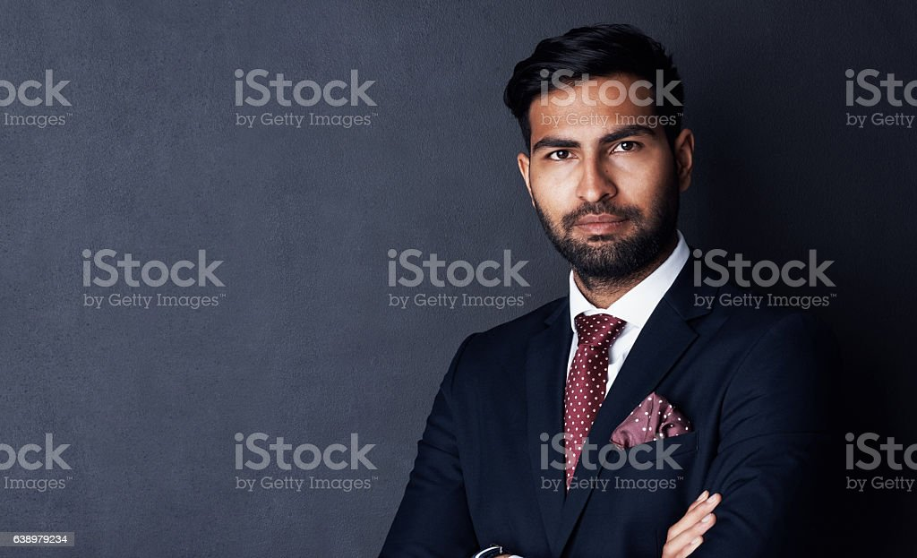Nothing will detract me from the business mission stock photo