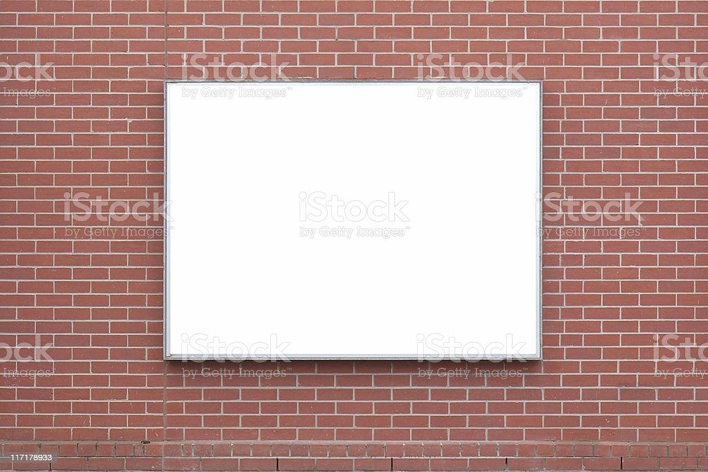 Notice board. royalty-free stock photo