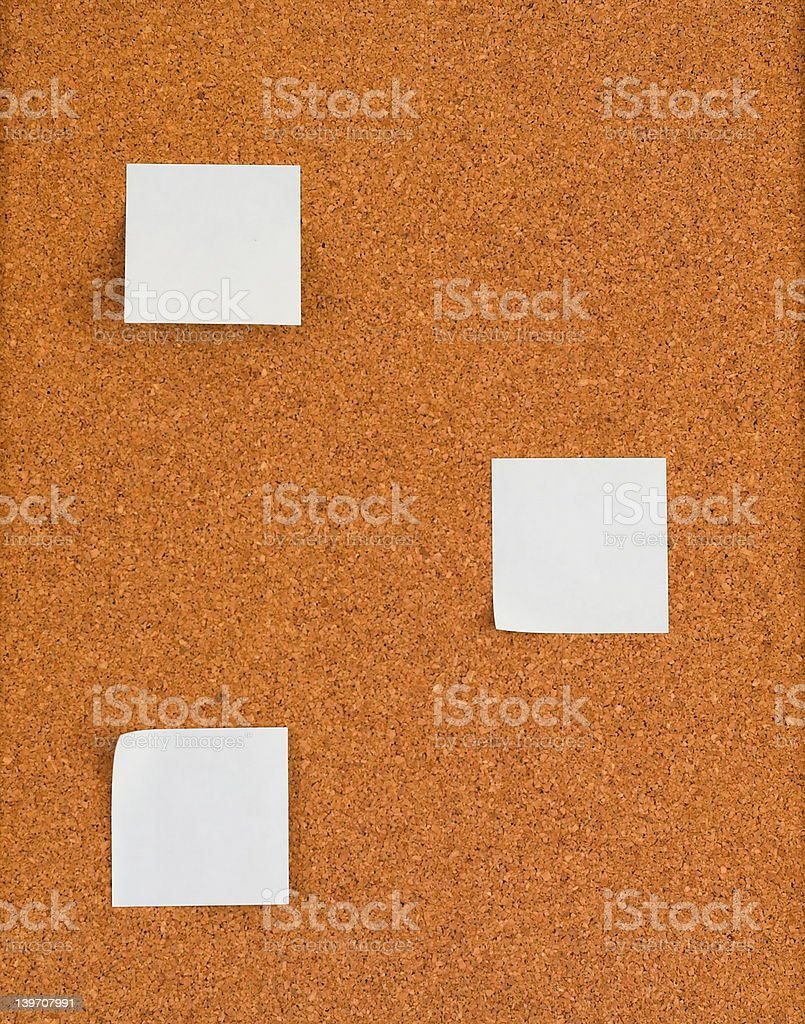 Notice board. royalty-free stock photo