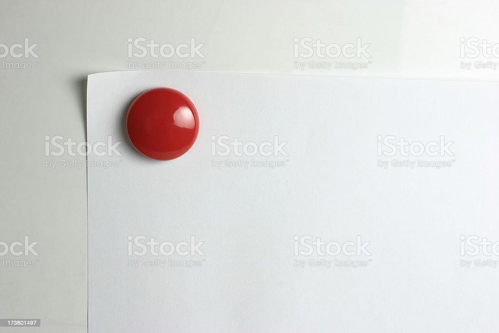 Notice Board stock photo