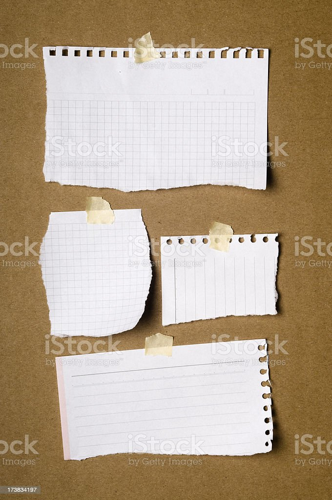 Notice board royalty-free stock photo