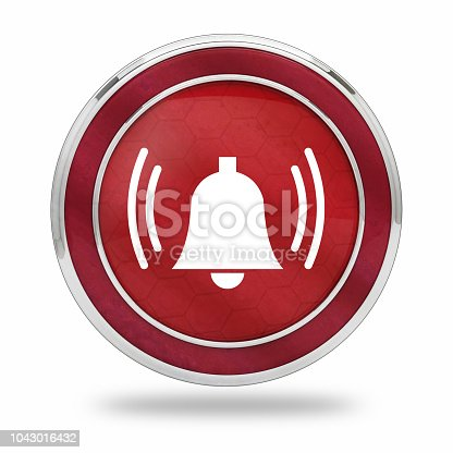istock notification button Bell 1043016432
