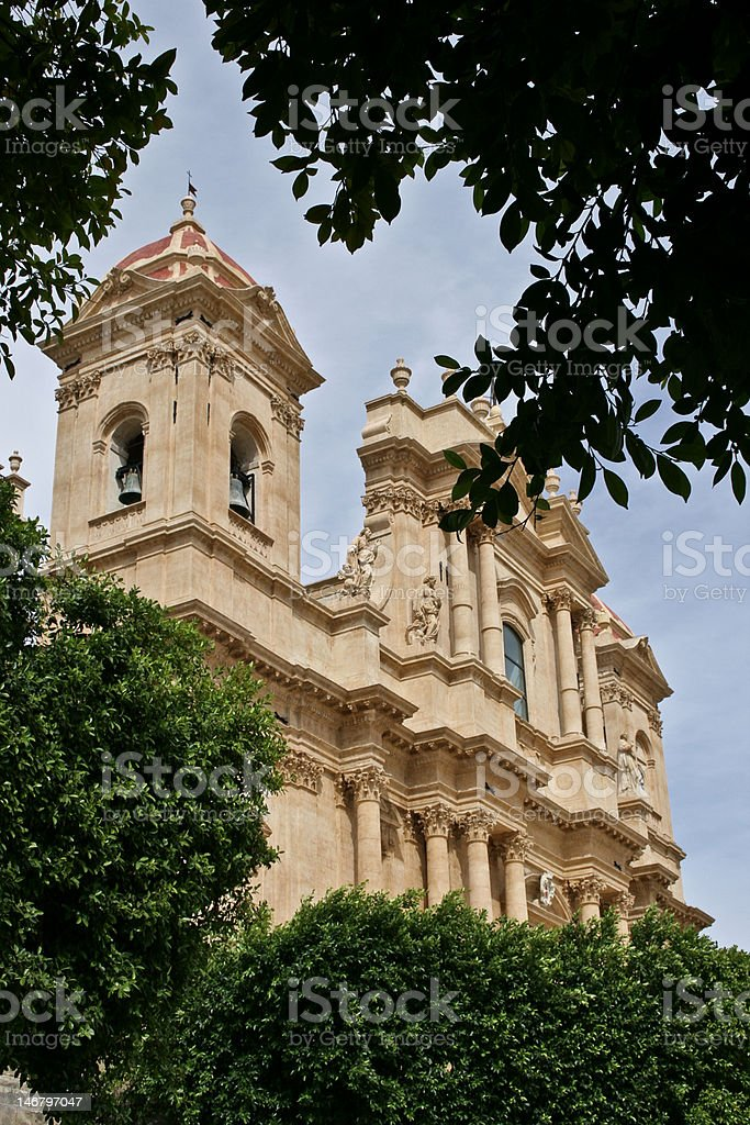Noto Cathedral royalty-free stock photo