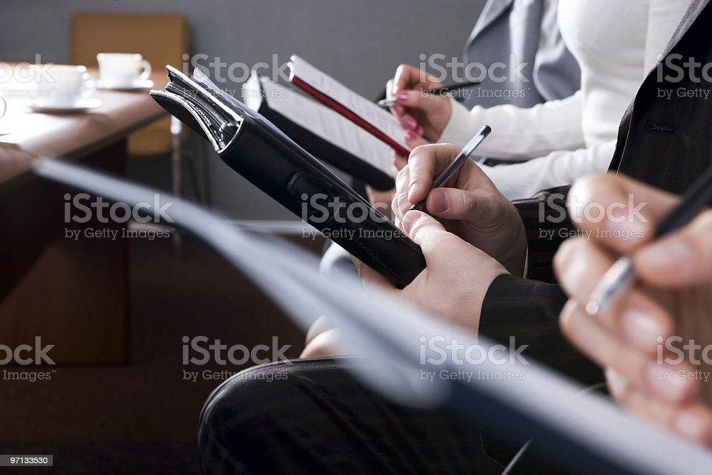Noting details royalty-free stock photo