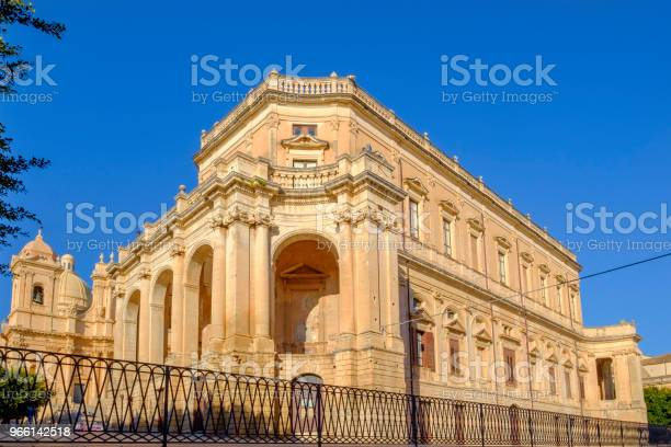 Noto Stadshuset Palazzo Ducezio-foton och fler bilder på Arkitektur