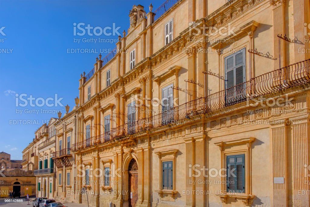 Noto (Sicily, Italy) - Royalty-free Architecture Stock Photo