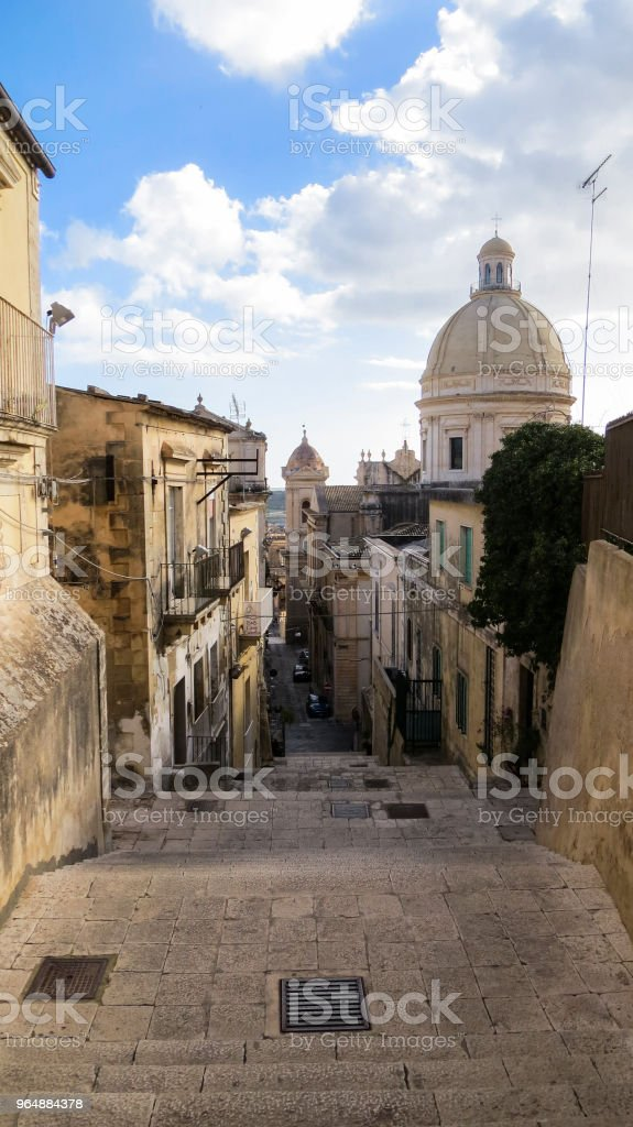 Noto, Sicily, Italy royalty-free stock photo