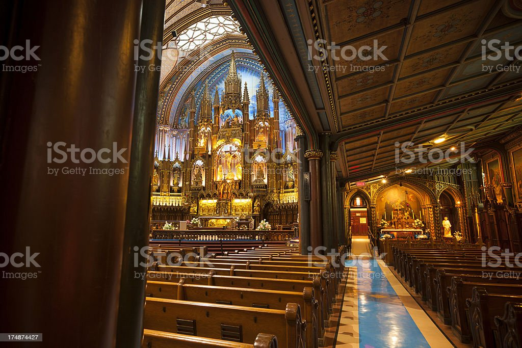 Notre Dame Basilica royalty-free stock photo