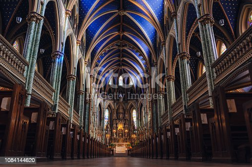 Notre Dame Cathedral Ottawa, Canada,