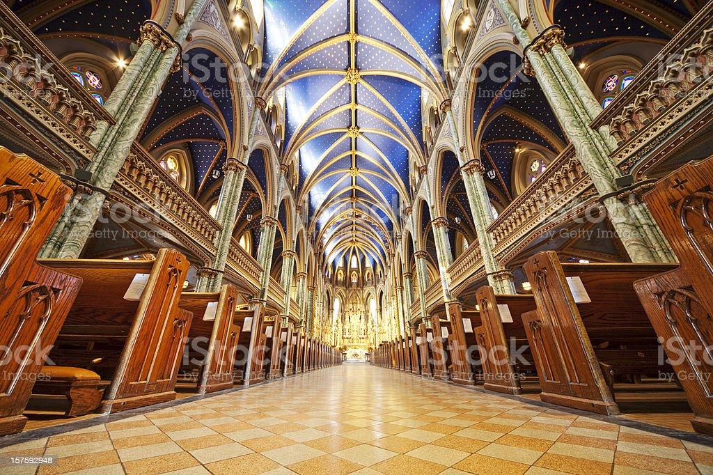 Cattedrale di Notre Dame di Ottawa - foto stock
