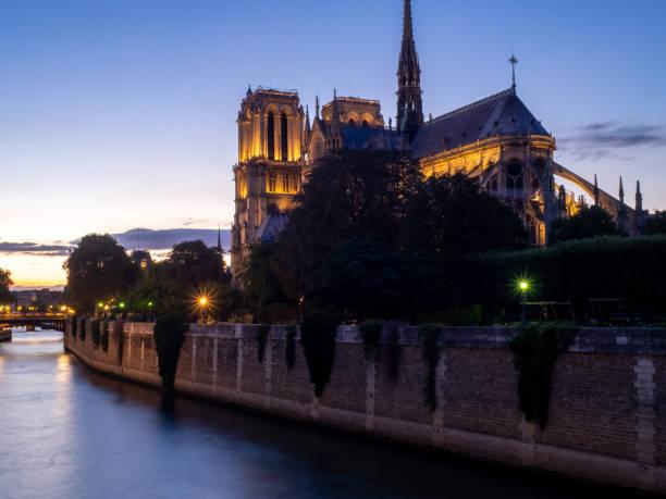 Notre Dame Cathedral, Paris - foto stock