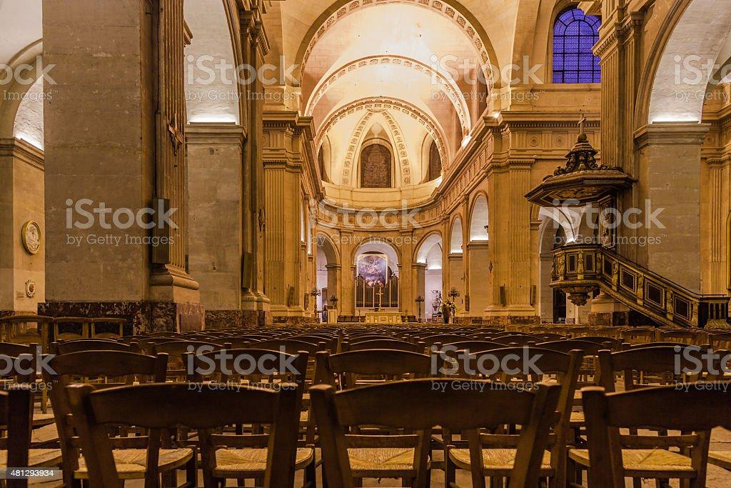 Iglesia de Notre-Dame en Versailles, Francia. - foto de stock