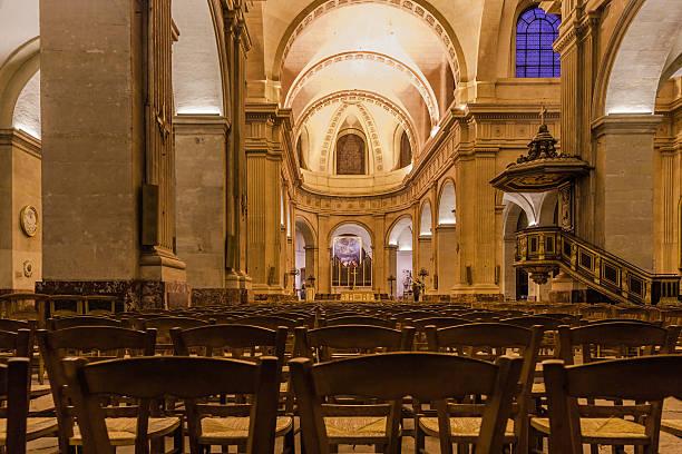 Igreja de Notre Dame em Versailles, França. - foto de acervo