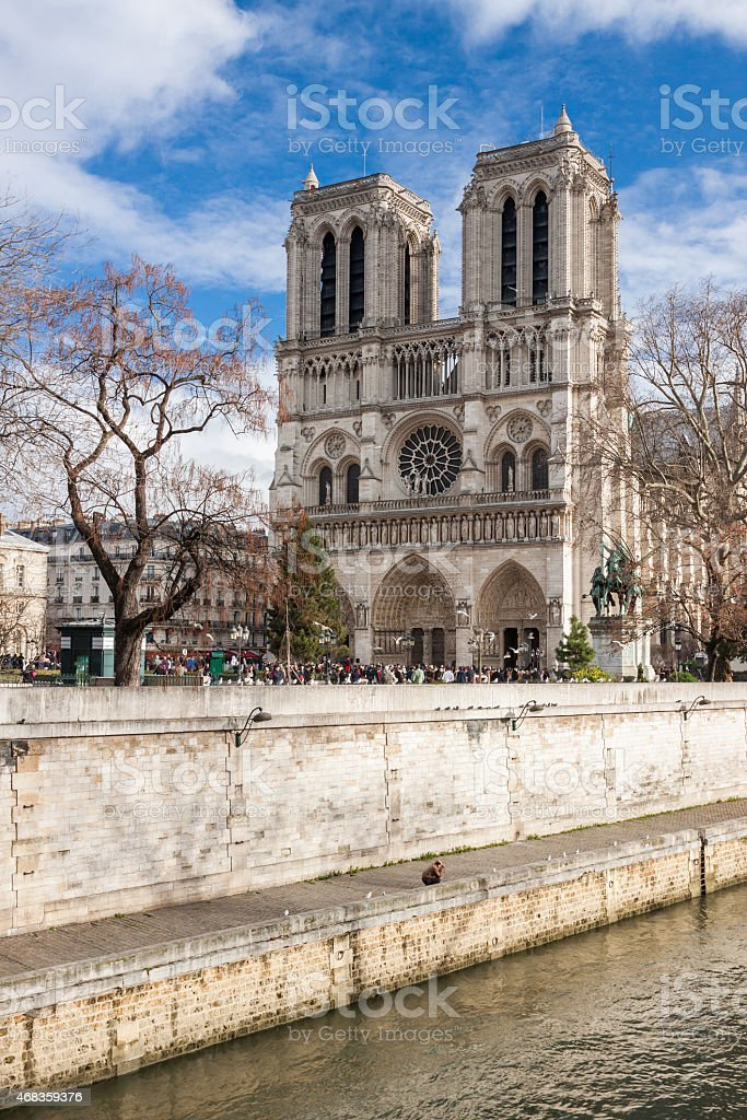 Notre Dame de Paris, France. royalty-free stock photo