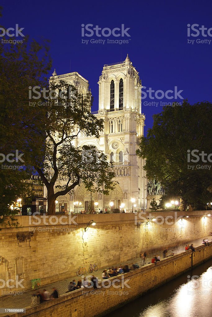 Notre Dame de Paris stock photo