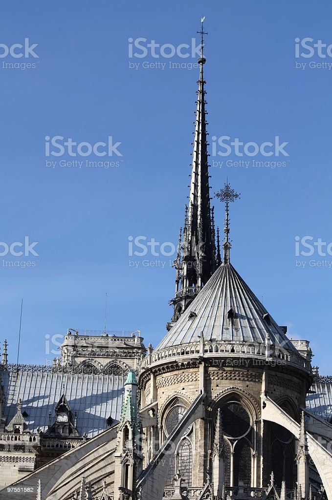 Notre Dame de Paris royalty-free stock photo