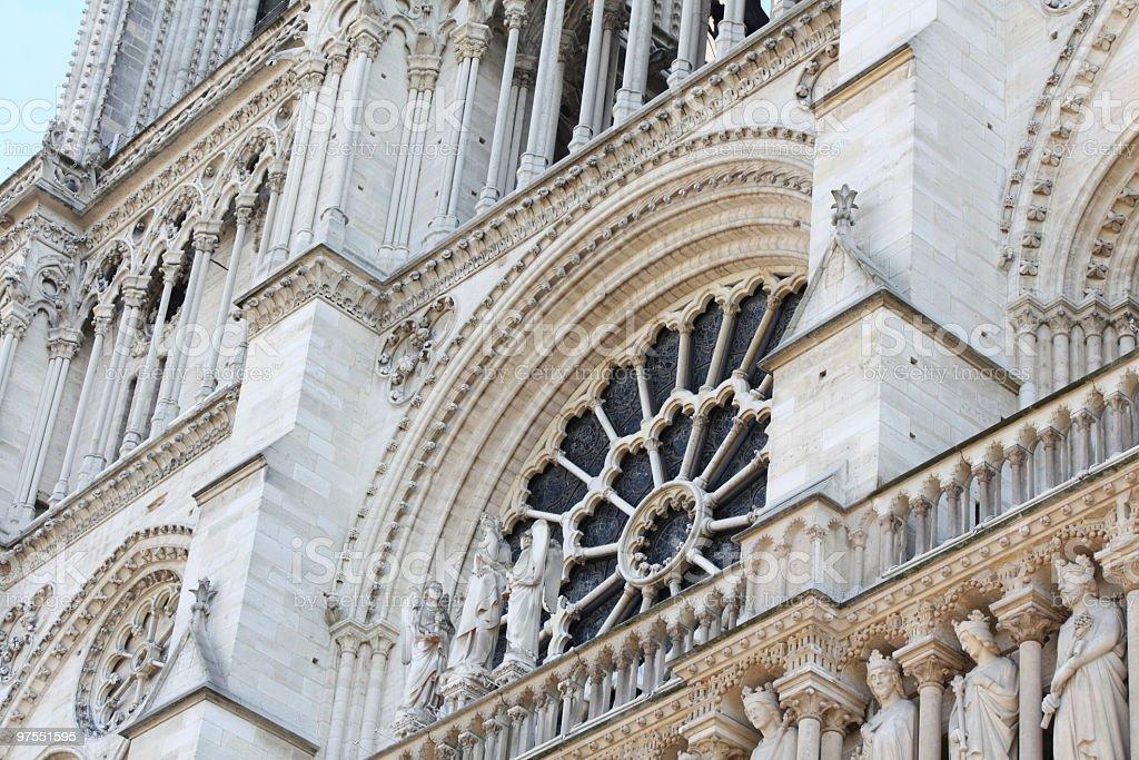 Notre-Dame de Paris photo libre de droits