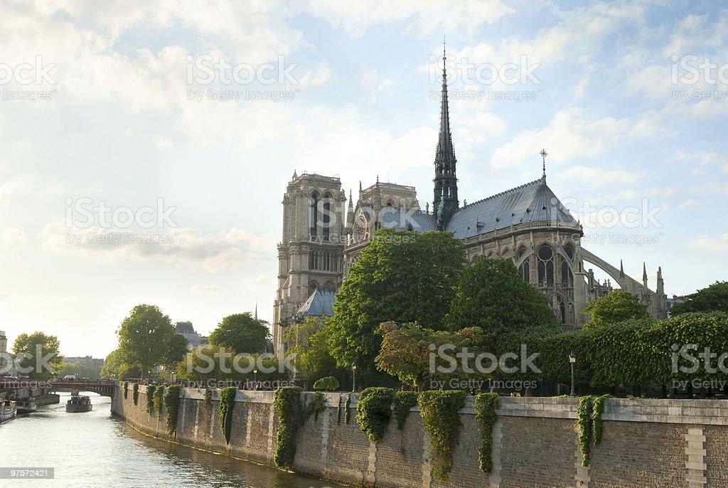 Notre-Dame de Paris. photo libre de droits
