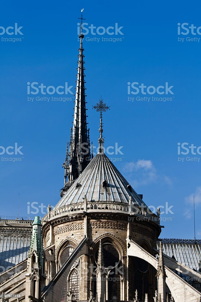Notre Dame ,France royalty-free stock photo