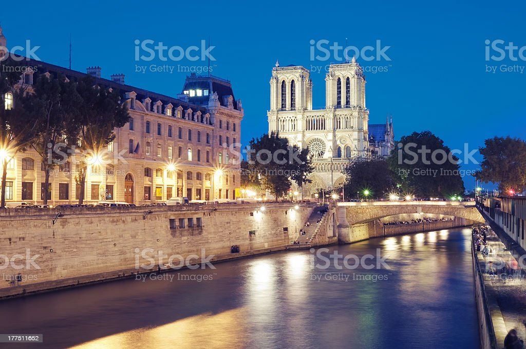 Notre Dame, Paris - France. royalty-free stock photo