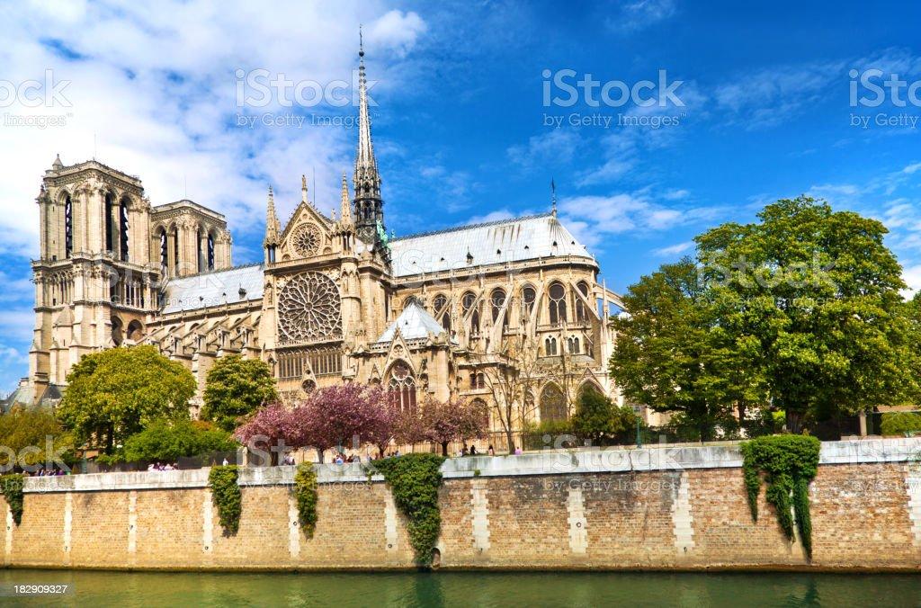 Notre Dame, Paris royalty-free stock photo