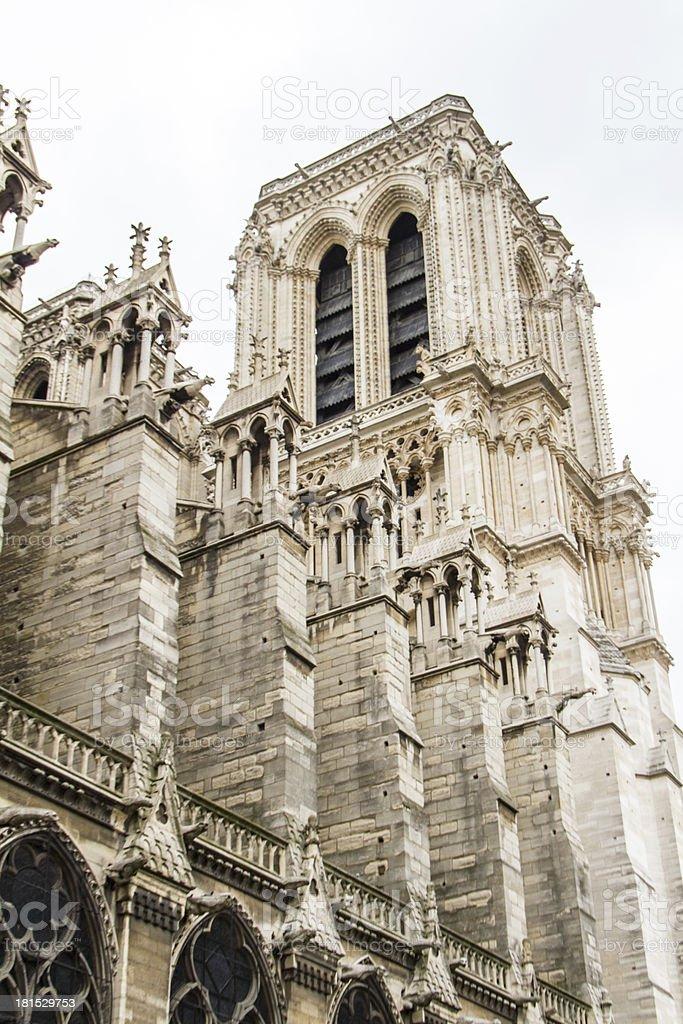 Notre Dame (Paris) royalty-free stock photo