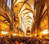 Notre Damme de Strasbourg, Taizé prayer