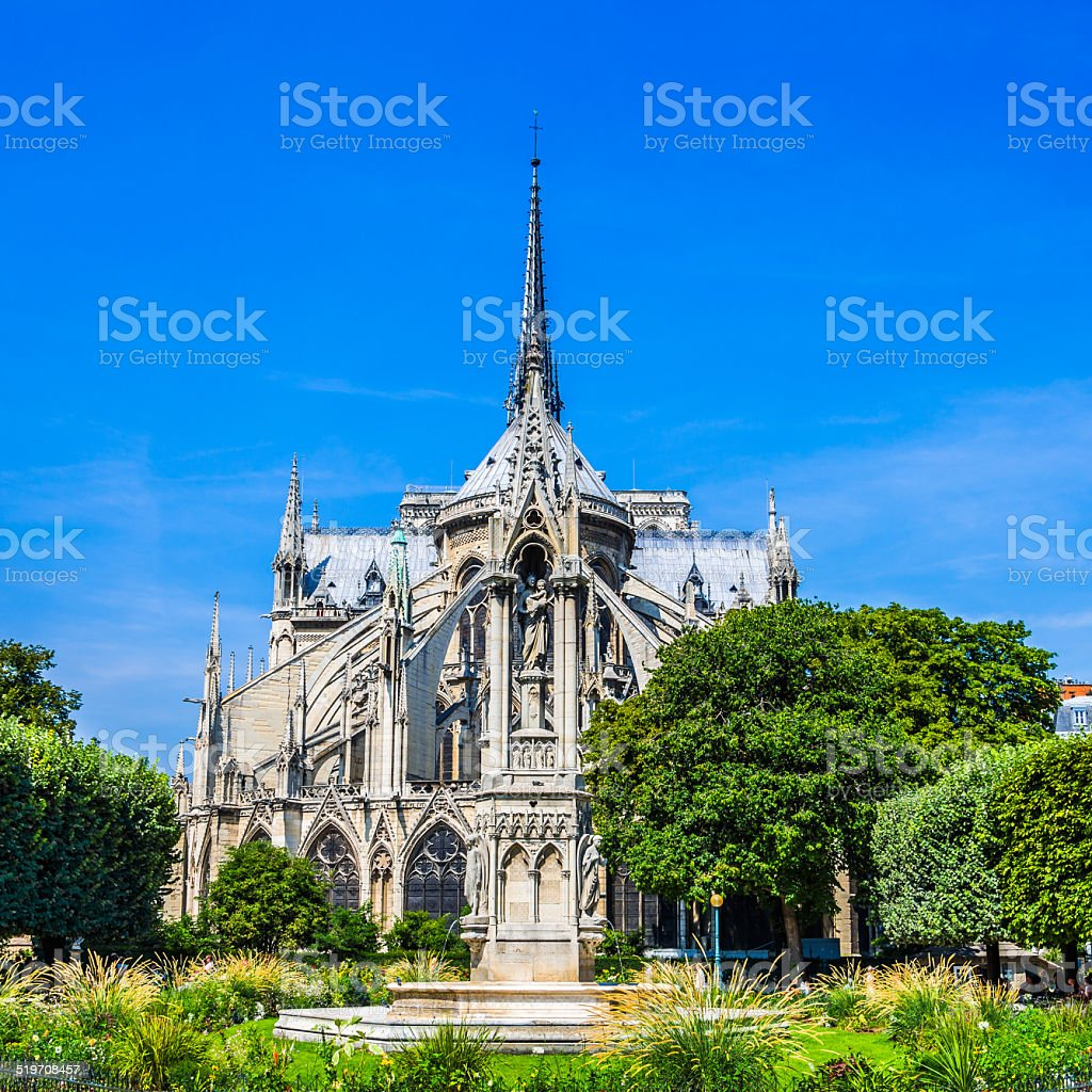 Notre-Dame Cathedral stock photo