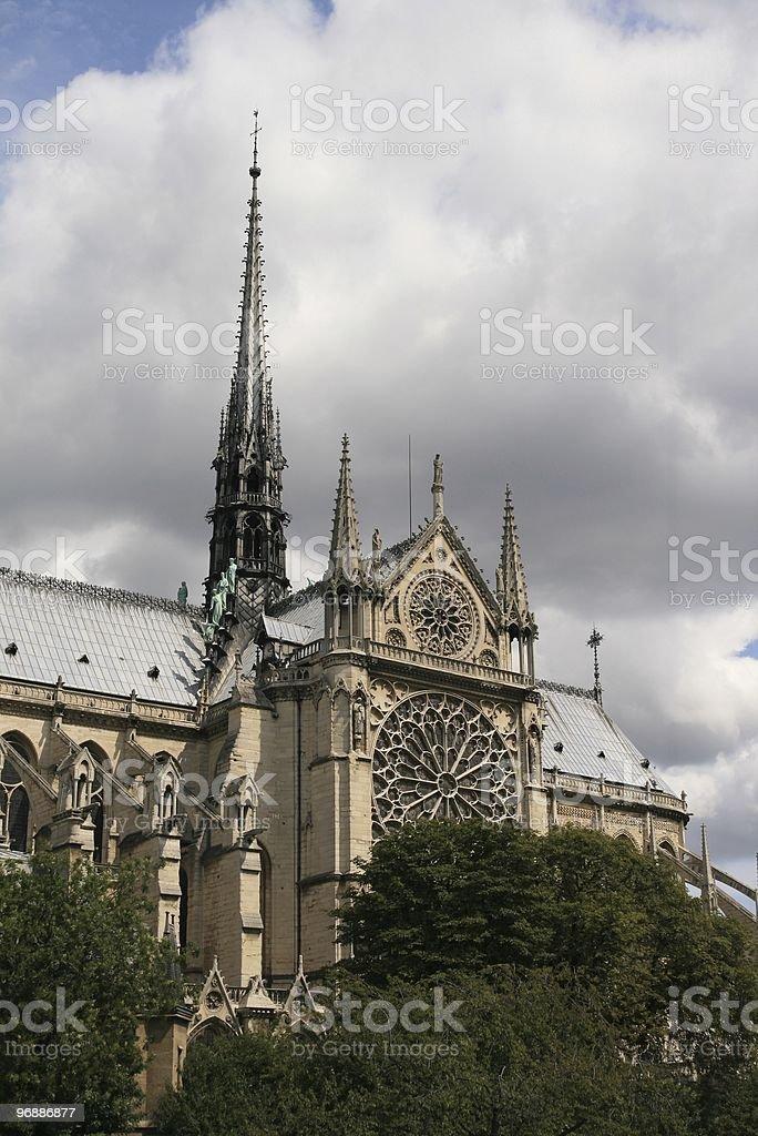 Notre-Dame, Paris Lizenzfreies stock-foto