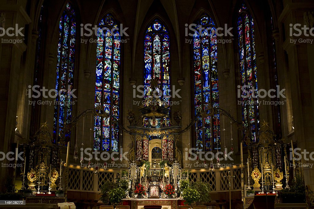 Notre-Damme Cathedral stock photo