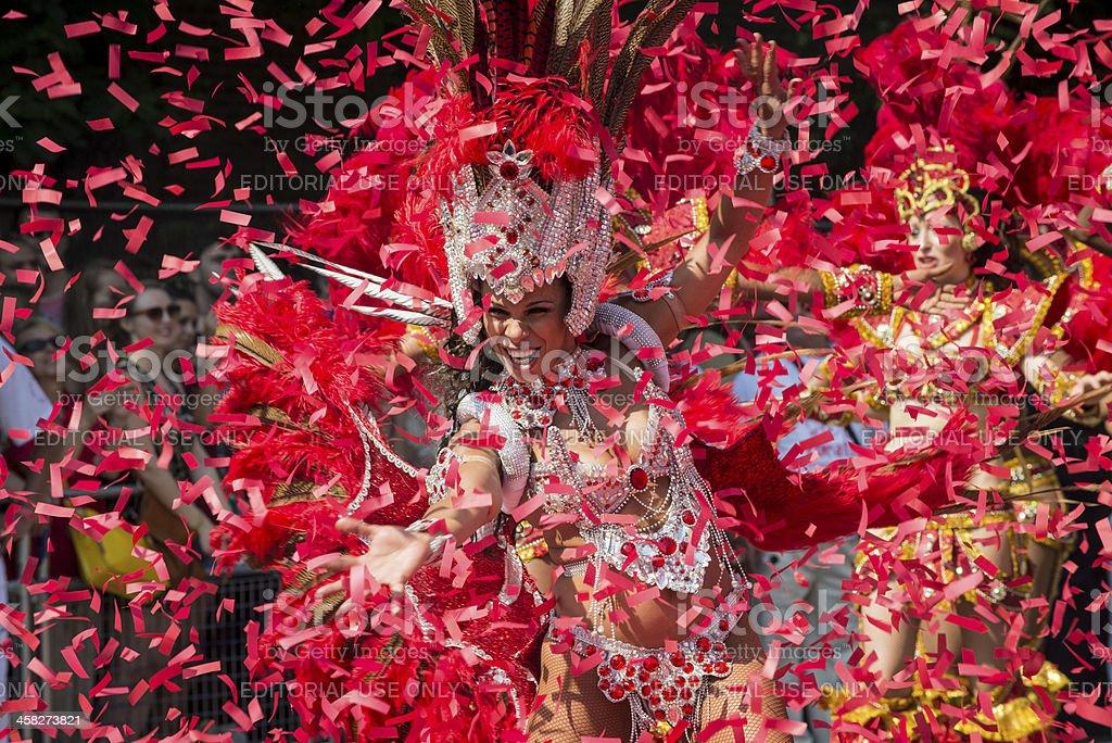 Notting Hill Carnival 2013 stock photo