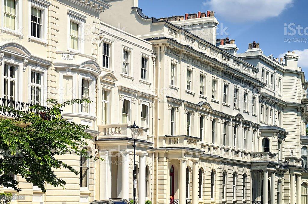 Notting Hill, London. stock photo