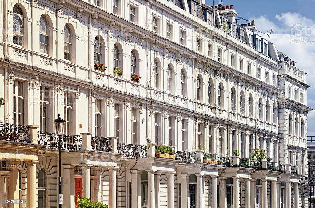 Notting Hill, London. royalty-free stock photo